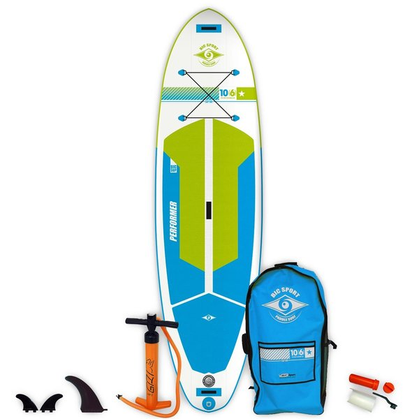 """Bic Sport AIR EVO PERFORMER 10'6"""" INFLATABLE SUP"""
