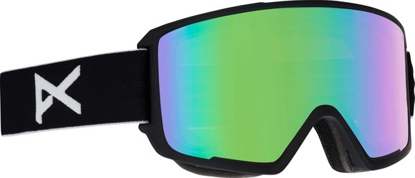 Anon Mens CIRCUIT SNOW GOGGLE Color: Black w/ Zeiss SONAR Green Lens