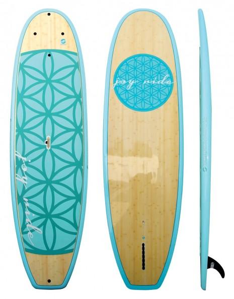 """Boardworks 9'11"""" EPXV Joyride FLOW - Ocean/Wood/Sea Foam"""