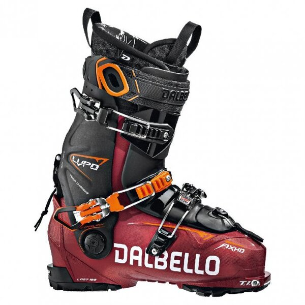 Dalbello LUPO AX HD UNI METAL RED/BLACK
