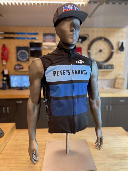 Borah Teamwear Pete's Garage Borah OTW Thermal Cycling Vest