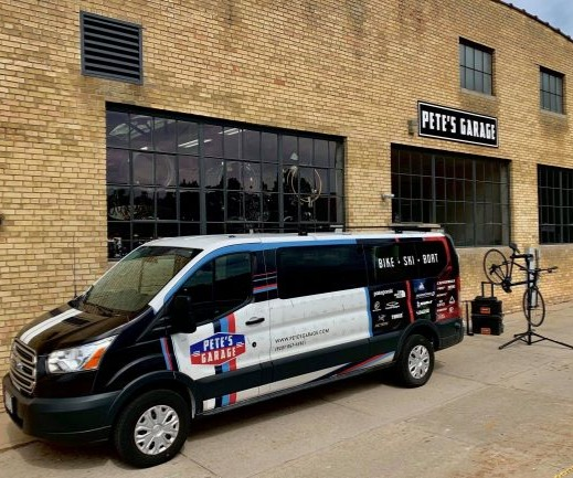 Pete's Garage Mobile Service Van