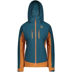 Scott Clothing Jacket W's Ultimate DRX Blue Ginger