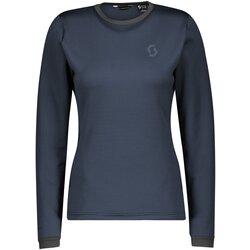 Scott Clothing Crewneck W's Defined Tecnostretch Dark Blue