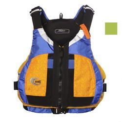 MTI Adventurewear PFDiva - Fractal Mango/Blue Ripstop
