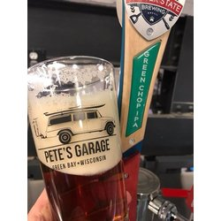 Pete's Garage TRUCK LOGO PINT GLASS