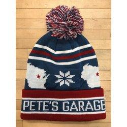 Pete's Garage SNOWFLAKE BEANIE