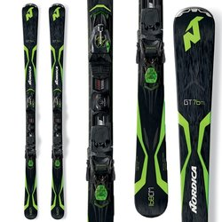 Nordica GT 76 TI Skis W/N Pro P.R. Evo Bindings