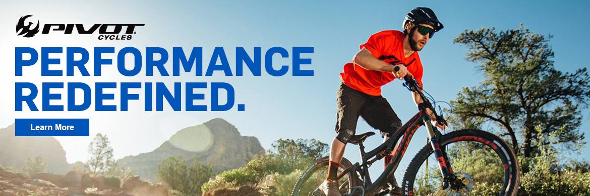 Feel the difference on a new Pivot Cycles mountain bike!