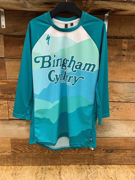 Specialized Bingham Cyclery Mountain Enduro Jersey 3/4 Sleeve