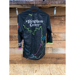 Specialized Bingham Cyclery Topographical Enduro Jersey 3/4 Sleeve