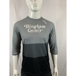 POC Bingham Cyclery Essential Enduro 3/4 Light Jersey Francium Multi Grey