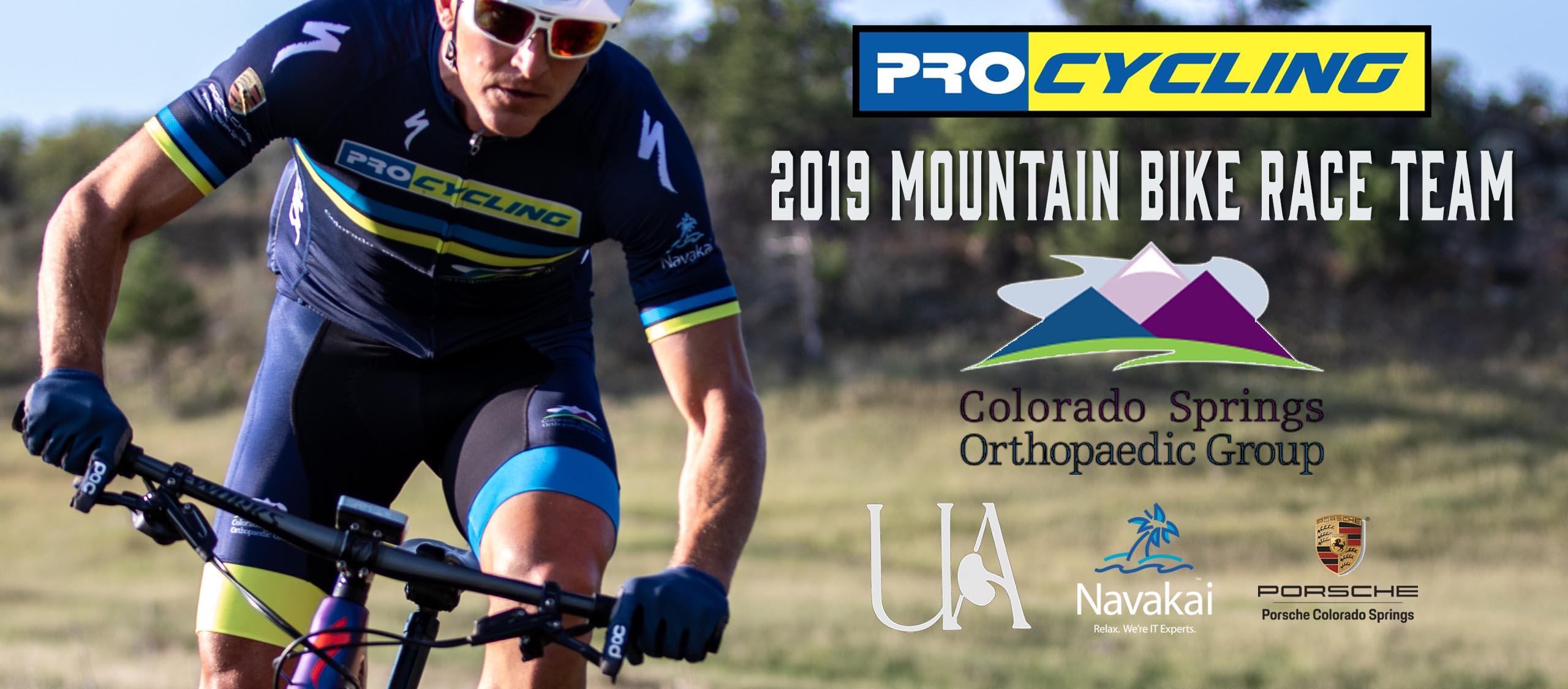 ProCycling 2019 Mountain Bike Race Team - sponsors