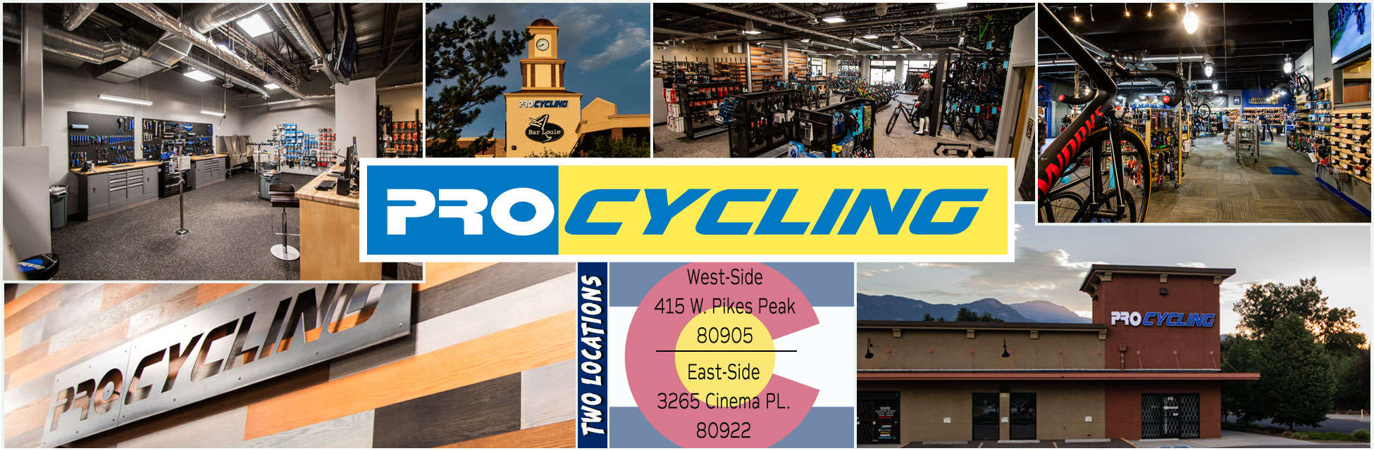 ProCycling - Two Locations