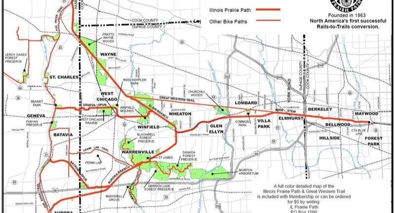 Illinois Prairie Map
