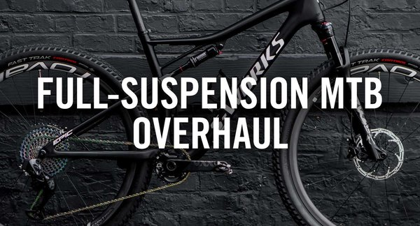 Bicyle Pro Shop Full Suspension MTB Overhaul