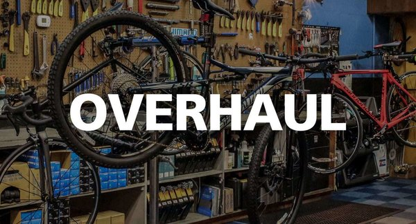 Bicyle Pro Shop Overhaul - Service Special