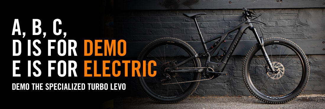 Demo the Specialized Turbo Kenevo E-MTB