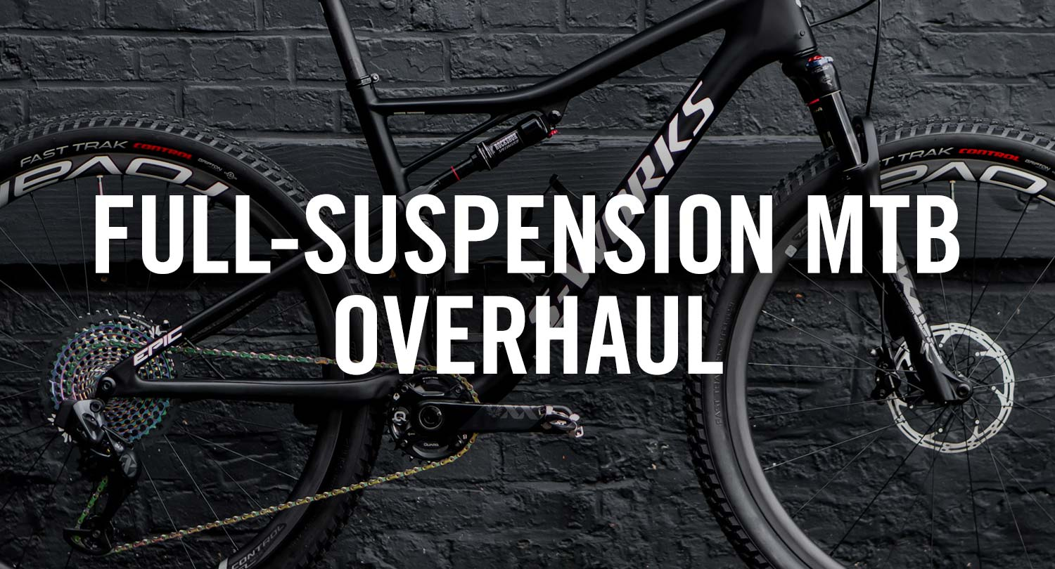 Bicycle Pro Shop Full-Suspension MTB Overhaul