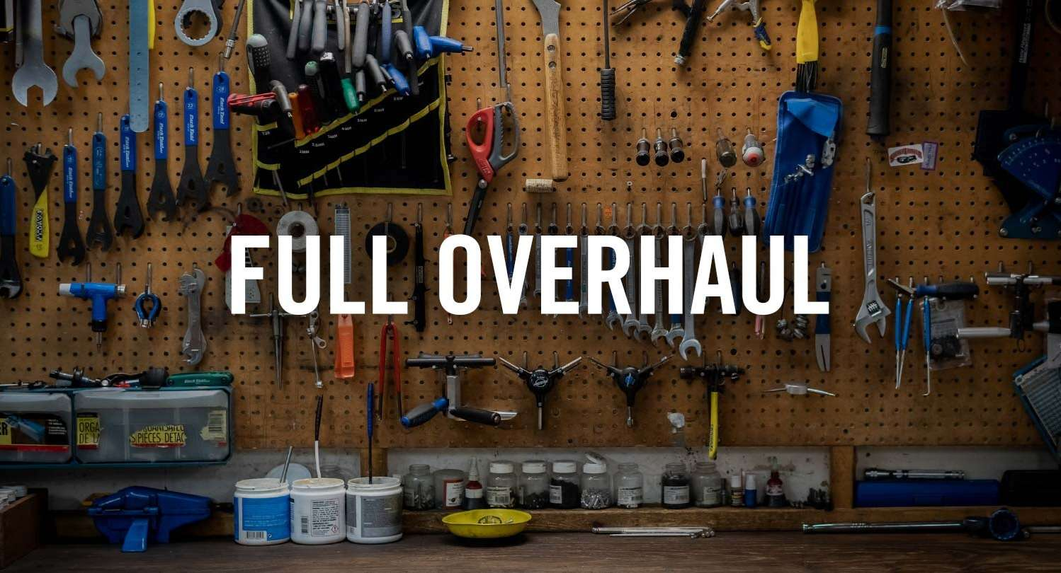 Full Overhaul at The Bicycle Pro Shop in DC, VA | Bicycle Sales & Service