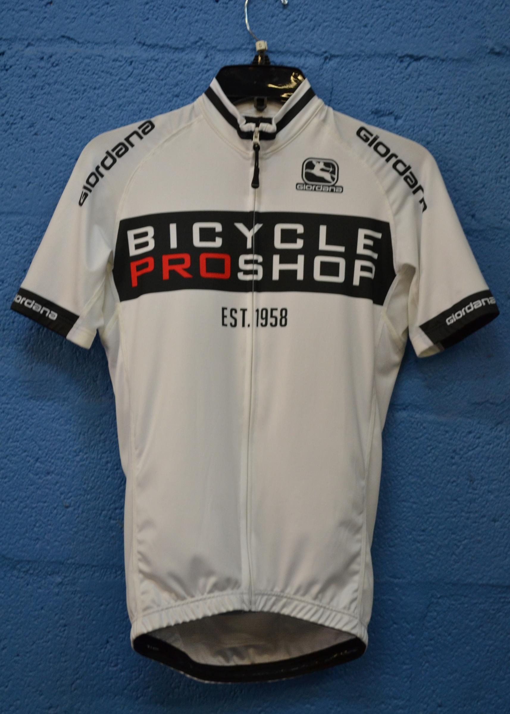 White Bicycle Pro Shop Jersey