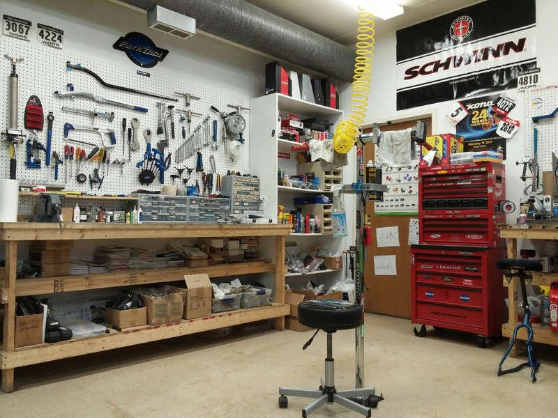 Service & Repair at All Spoked Up - we repair bikes!