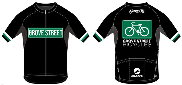 Grove Street Bicycles Grove Street Bicycles Men's Cycling Jersey