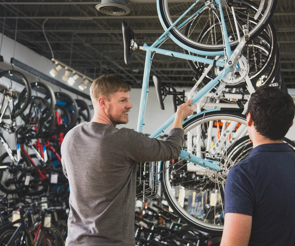 Concierge Service at Grove Street Bicycles