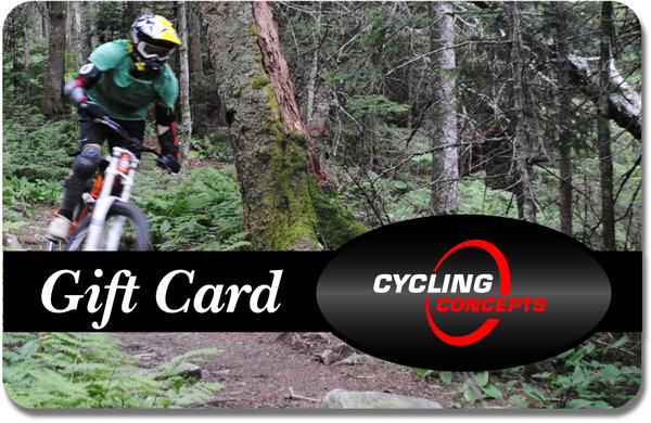 Cycling Concepts Gift Card - Mountain Bike Design