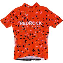 Red Rock Bicycle RRBC Breccia RBX Jersey- Orange