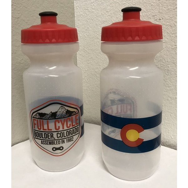 Full Cycle/Tune Up Full Cycle Logo Water Bottle