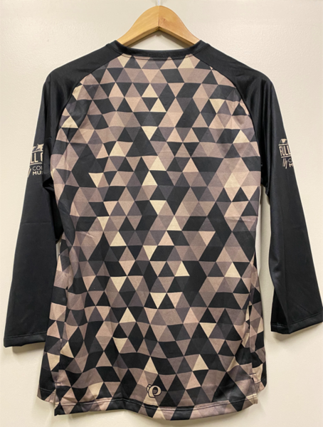 Full Cycle/Tune Up Full Cycle/Colorado Multisport 3/4 Mtb Jersey Blk/Tan