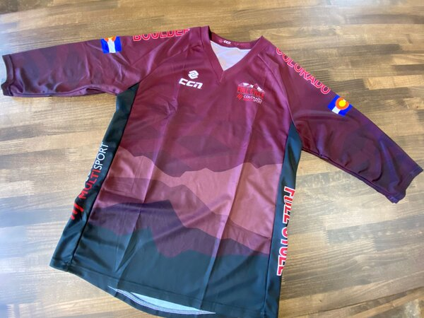 Full Cycle/Tune Up Full Cycle/Colorado Multi Sport Mountain Fade Mountain Bike Jersey