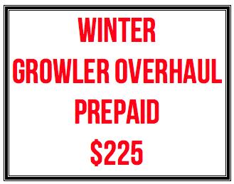Full Cycle/Tune Up Winter Growler Overhaul - Valid thru 3/15/19