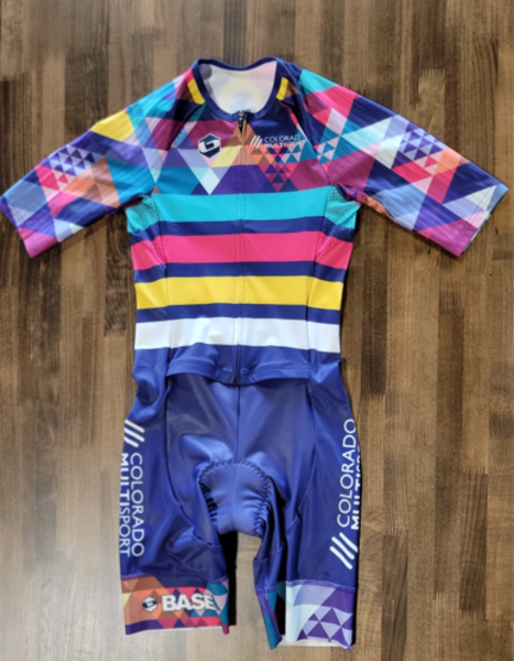 Full Cycle/Tune Up Colorado Multisport Base Womens Multi-Color Tri Suit