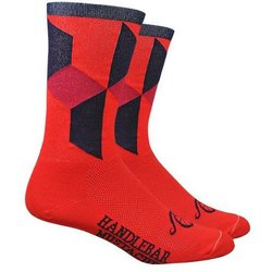 Full Cycle/Tune Up Handlebar Mustache 3D Socks - FCX Team Socks