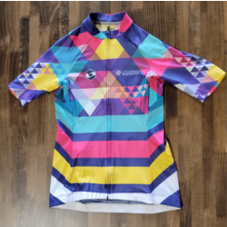 Full Cycle/Tune Up Colorado Multisport Base Mens Multi-Color Jersey
