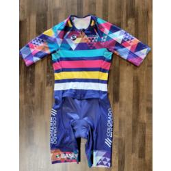 Full Cycle/Tune Up Colorado Multisport Base Mens Multi-Color Tri Suit