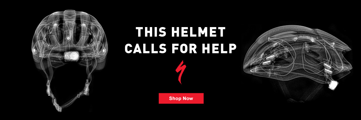 Specialized ANGi Helmet - This Helmet Calls for Help