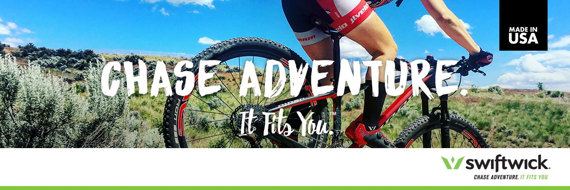 Swiftwick. Chase Adventure. It Fits You - Made in USA