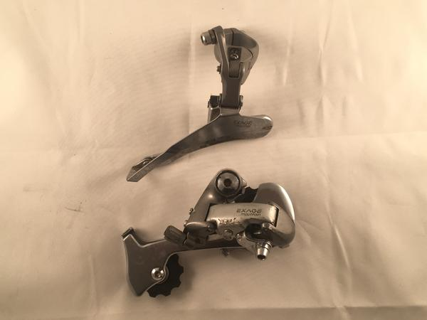 Shimano Exage Mountain Front and Rear Derailleur