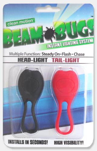 Clean Motion Beam Bugs (pair)