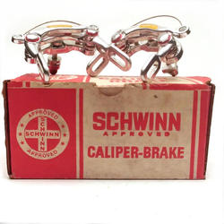 Schwinn Approved Lightweight Center Pull Brake Calipers and Levers NOS
