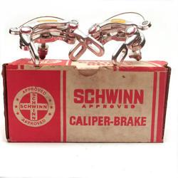 Schwinn Approved Lightweight Center Pull Brake Calipers and Levers NOS