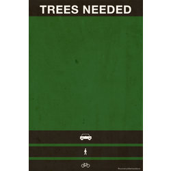 Re-Cycle Trees Needed Poster