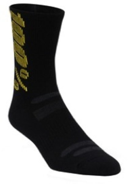 100% Guard Merino Wool Socks: 100% Black SM/MD
