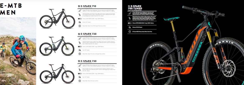 Scott E-Spark E-Bike Mountain Bike