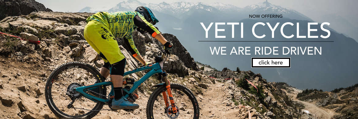 Yeti Cycles Mountain Bikes - We Are Ride Driven