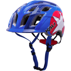 Kali Protectives Chakra Star Blue/Red, One Size