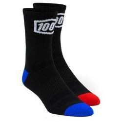 100% Terrain Socks: 100% Black SM/MD
